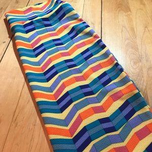 LuLaRoe Cassie pencil skirt. Medium